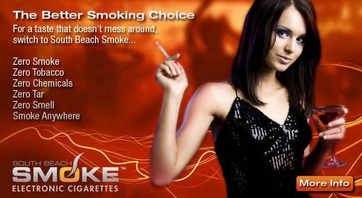 South Beach Smoke E-Cigarette - The Better Smoking Choice